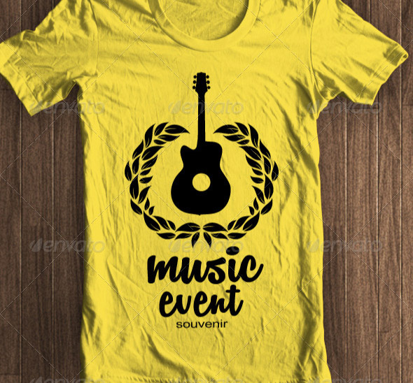 music-event-tshirt