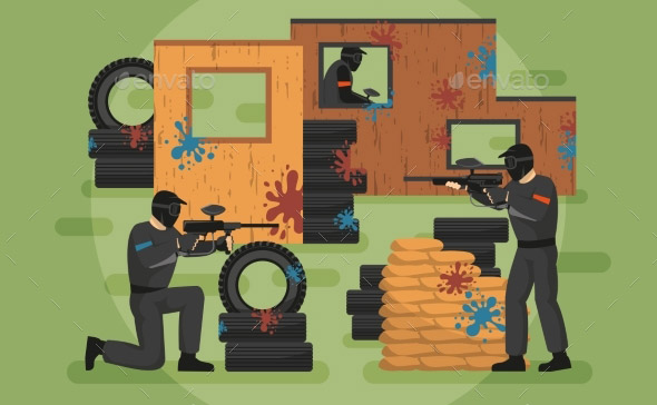 paintball-battle-illustration
