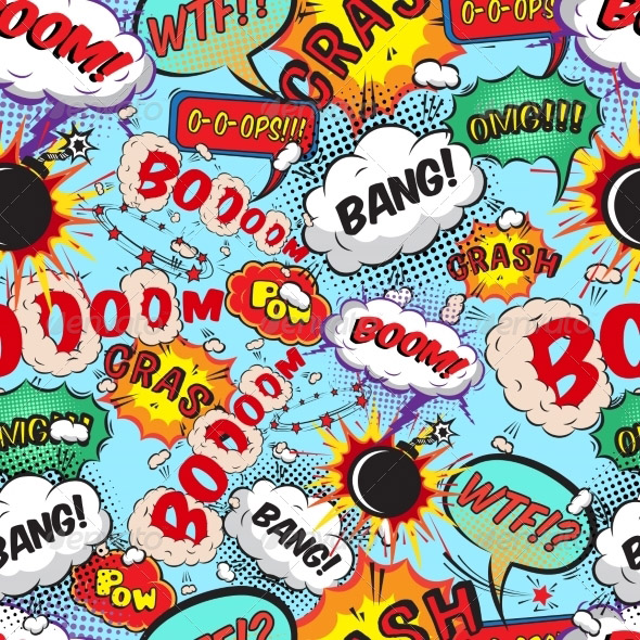 seamless-pattern-comic-speech-bubbles
