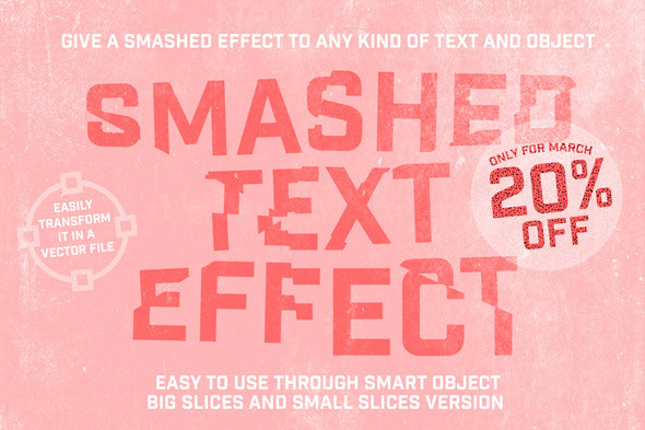 smashed-text-effect