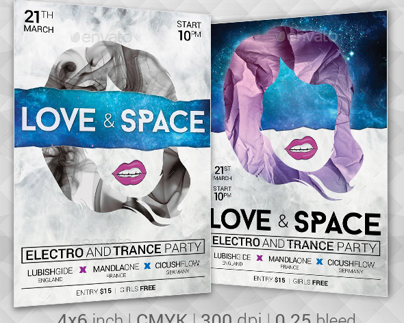 space-music-flyer