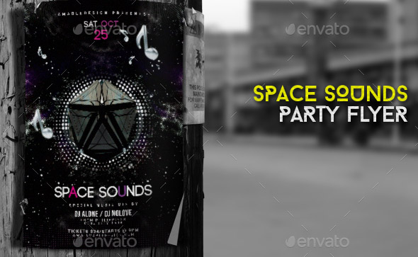 space-sounds-flyer-poster