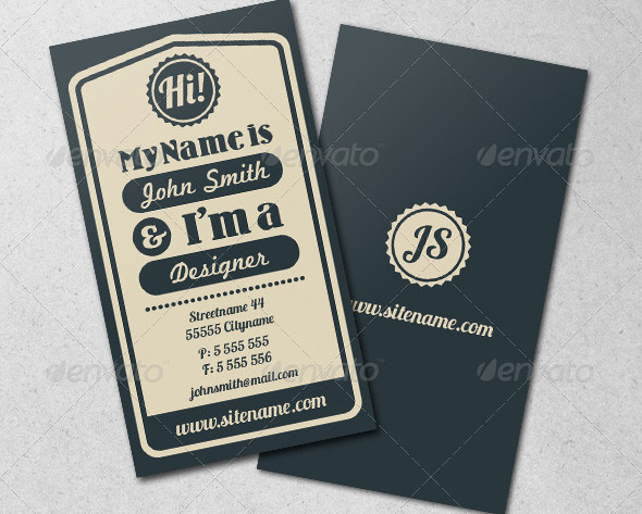 vintage-typographic-business-card