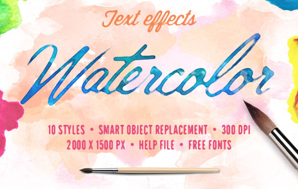 watercolor-text-effects
