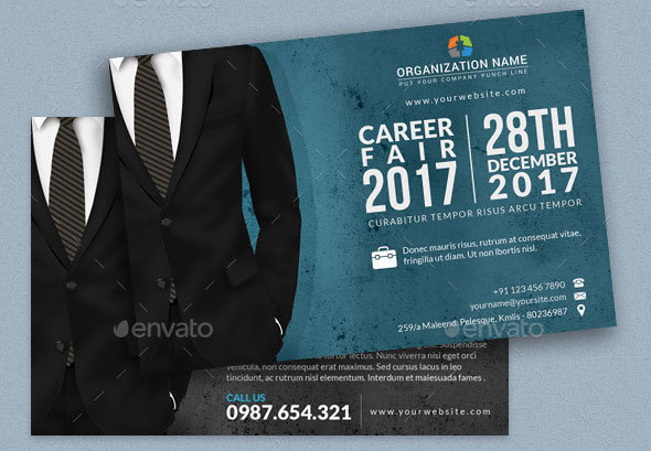 career-fair-post-card
