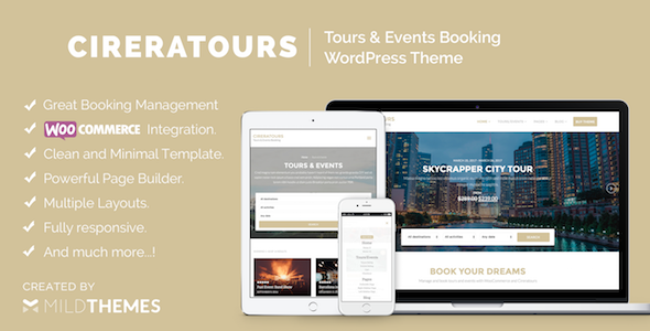 cireratours-tours-events-booking-wordpress-theme