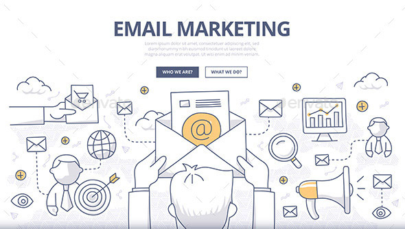 email-marketing-doodle-concept