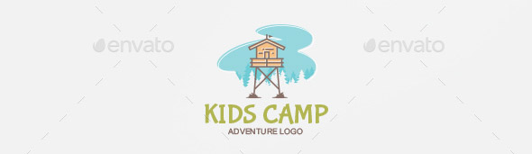 kids-camp-logo-template