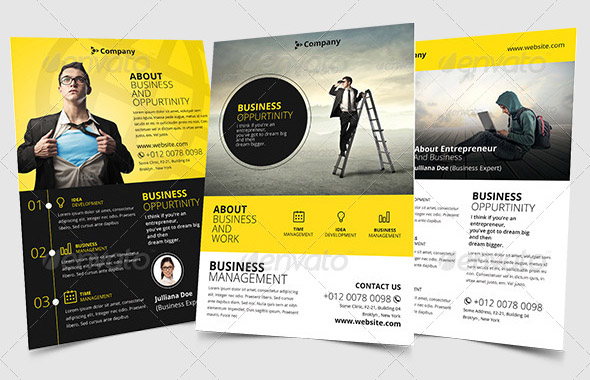 minimal-business-flyer