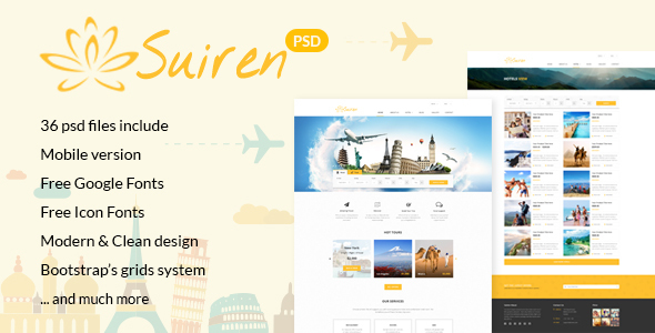 suiren-travel-tour-and-booking-agency-html-template