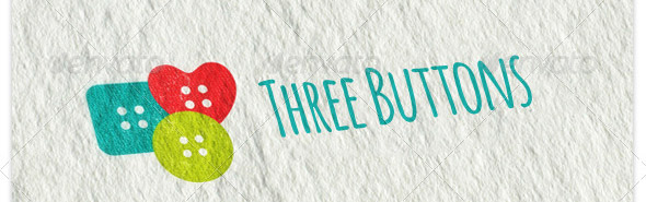 three-buttons-logo