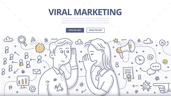 viral-marketing-doodle-concept
