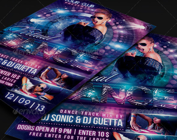 virtual-dance-flyer-template