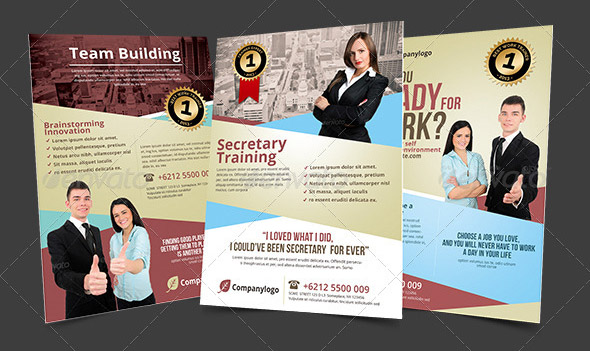 work-training-team-building-flyer-template