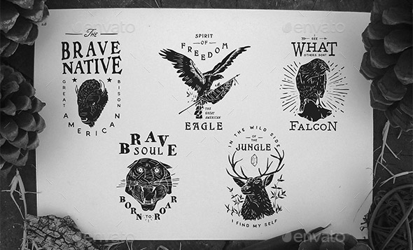 5-vintage-animal-badges