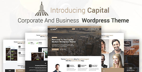 CAPITAL Business And Corporate WordPress Theme