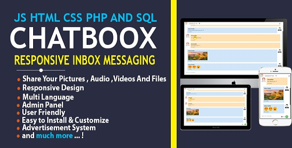 Chatboox - Fully Responsive Instant Messaging