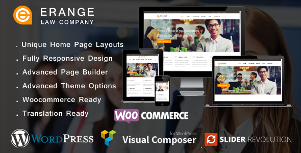 Erange Law Firm WordPress Theme