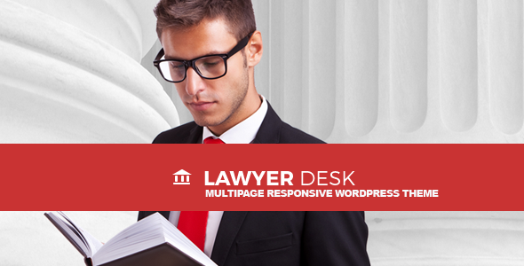 LawyerDesk Multipage Lawyer and Attorney Responsive Theme