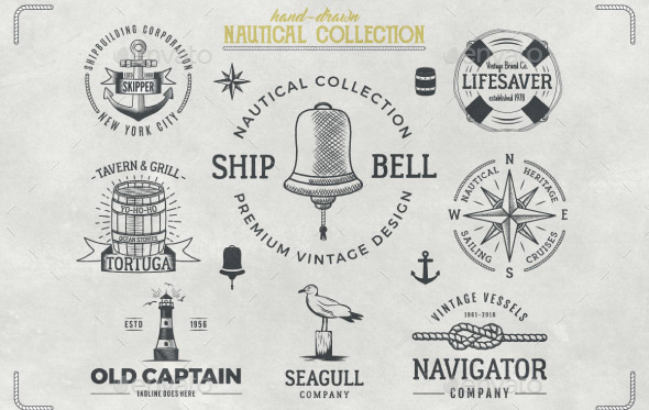 nautical-badges-collection