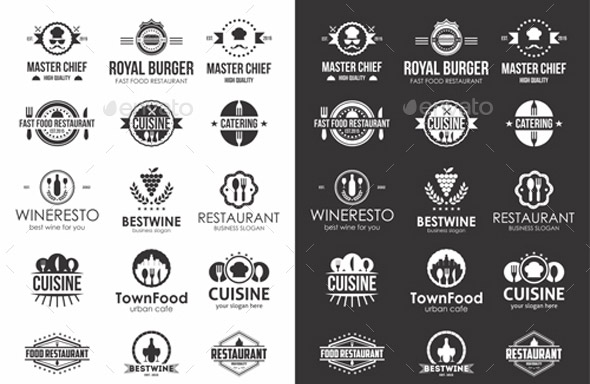 restaurant-food-badges-logos-labels-bundle