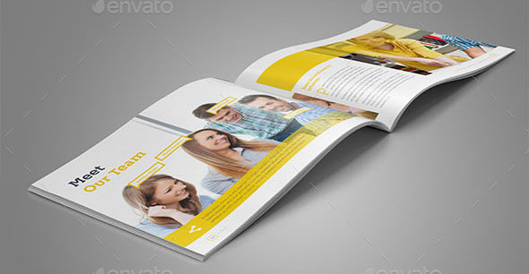 22 Cool Brochure Templates For Company Brand Book – Desiznworld