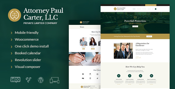 The Law Legal Advisers Attorneys WP Theme