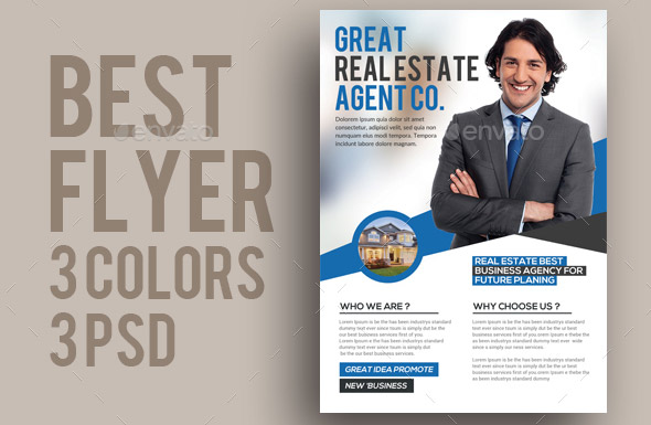 29 cool real estate flyer templates  u2013 desiznworld