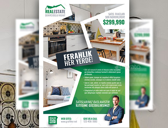 29 cool real estate flyer templates desiznworld
