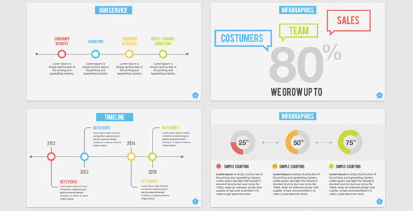 23 nice powerpoint templates for annual report – desiznworld, Modern powerpoint