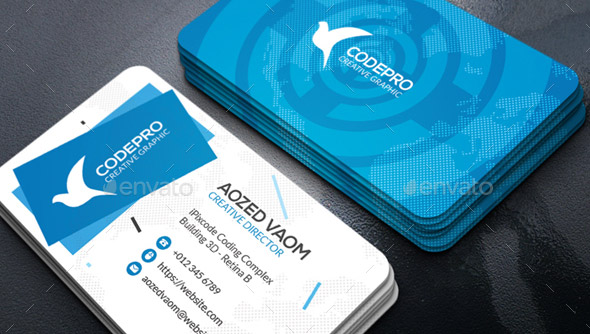 26 cool business card templates for technology company desiznworld technology business card colourmoves
