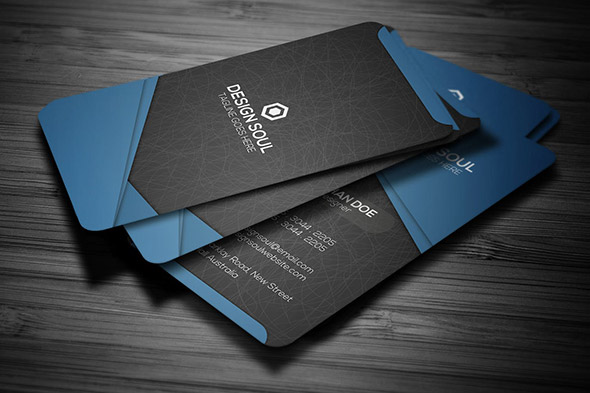 26 Cool Business Card Templates For Technology Company