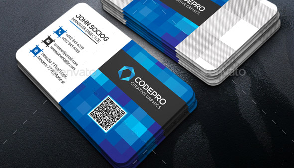 26 cool business card templates for technology company desiznworld technology business card friedricerecipe Images