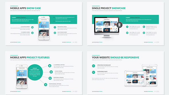 19 Nice Powerpoint Presentation Templates For Business Proposal