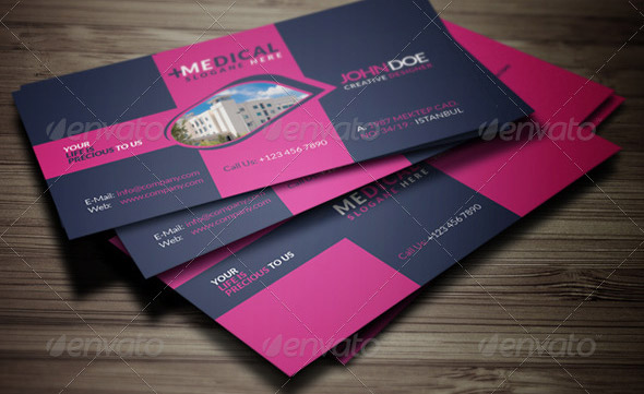 16 Cool Business Card Design Templates For Doctor Medical