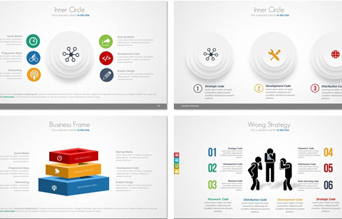 23 nice powerpoint templates for annual report – desiznworld, Presentation templates