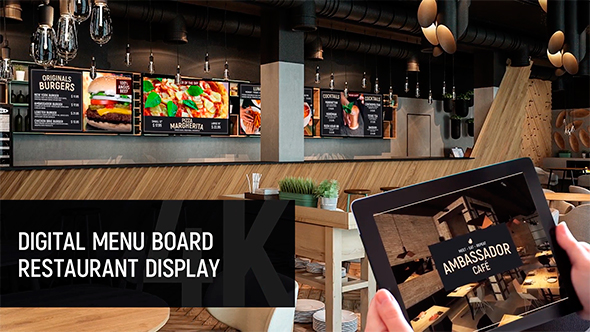 22 cool after effects templates for restaurant  u2013 desiznworld