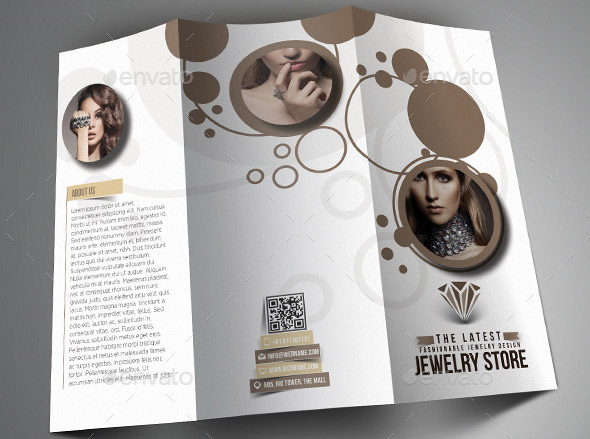 Amazing Jewelry Brochure Template Photos  Best Resume Examples
