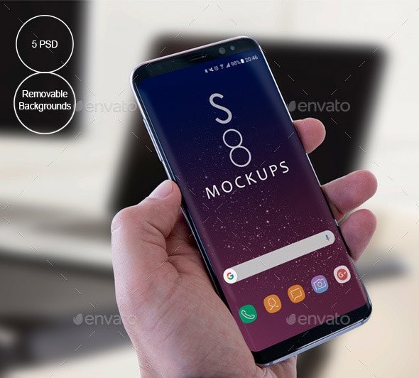 21 Cool Android Mockup Templates – Desiznworld