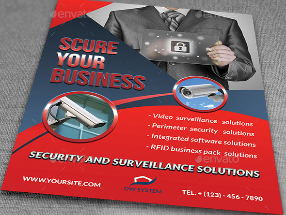 21 Nice Flyer Templates For Security Company Desiznworld