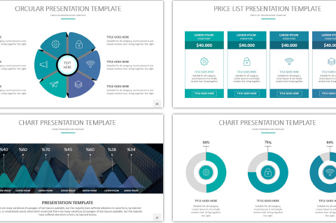16 cool powerpoint templates for analytics presentation – desiznworld, Modern powerpoint
