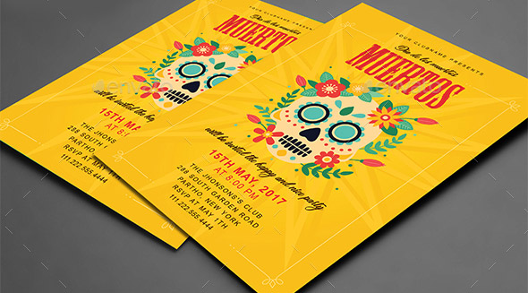 Cool Zombie Flyer Templates  Desiznworld