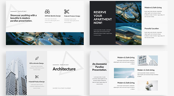 20 cool architecture powerpoint presentation templates – desiznworld, Powerpoint templates