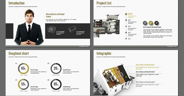 20 Cool Architecture PowerPoint Presentation Templates – Desiznworld