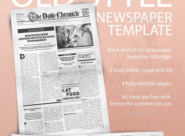 Dorable Pages Newspaper Template Vignette Resume Ideas Namanasa