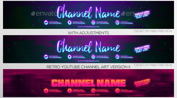 20 nice youtube channel cover design templates  u2013 desiznworld