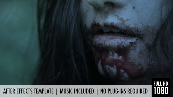 Free zombie visual effects toolkit pack 2 (after effects templates.