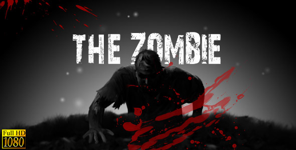 Zombie movie titles. After effects project on videohive. Net youtube.